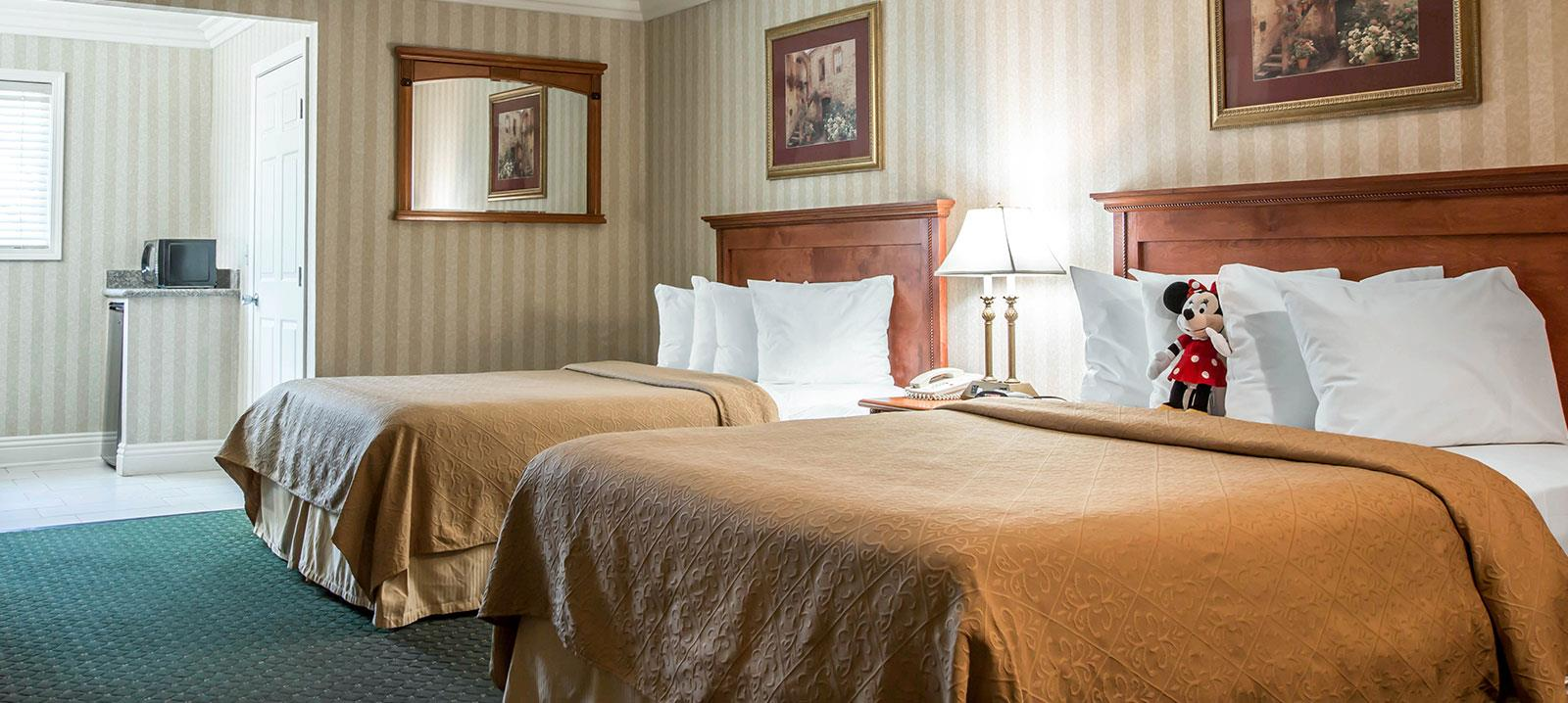 5 night stay and a City Pass from Anaheim Hotel